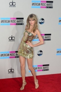 Taylor Swift was named Artist of the Year at the American Music Awards (AMA) Sunday. ©AFP PHOTO/Frederic J. BROWN