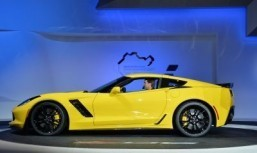 The Chevrolet Corvette Z06 ©AFP PHOTO/Stan HONDA