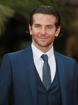 "US actor Bradley Cooper co-starred in ""American Hustle"" and ""The Hangover."" ©AFP PHOTO / JUSTIN TALLIS"