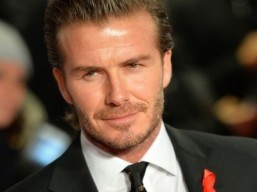 Former Manchester United and England footballer David Beckham ©AFP PHOTO / LEON NEAL