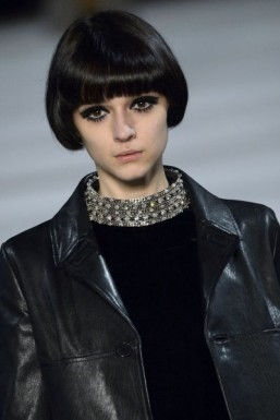 Sixties eyes at Saint Laurent ©AFP PHOTO / MIGUEL MEDINA