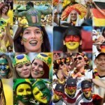 World Cup fan of the day: Brazil-Germany semi-final
