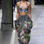 Spring-Summer 2015 trends: flowers, denim and military style