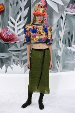 Midriff 'the new cleavage' in Chanel show