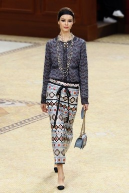 Chanel brings fantasy Paris to life at fashion week