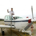 US teen pilot reaches India in around-the-world tour