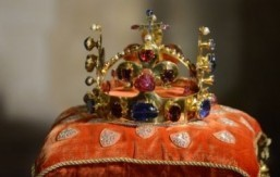 Medieval crown jewels on display at Prague castle