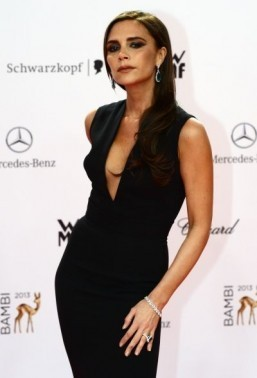 Victoria Beckham has guest edited the Christmas edition of Paris Vogue magazine, the publication said on Friday. ©AFP PHOTO / JOHN MACDOUGALL