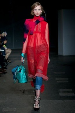 House of Holland Fall/Winter 2014 © AFP PHOTO / ANDREW COWIE