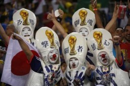 World Cup fan of the day: for the love of the trophy
