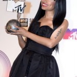 Ariana Grande and Nicki Minaj shine at MTV awards in Scotland