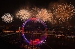 New Year celebrations around the world: London