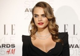 Cara Delevingne ©AFP PHOTO / JUSTIN TALLIS