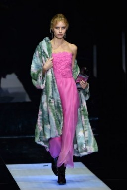 From the Milan runway: Giorgio Armani