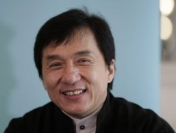 Hong Kong action hero and now artist manager Jackie Chan ©AFP /Shaun Curry