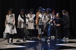 Japanese clothes but few Japanese models at Tokyo Fashion Week