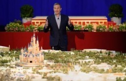Disney gives sneak peek for planned China theme park