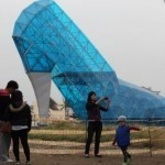 Sole search: Taiwan's giant 'shoe church' gains foothold