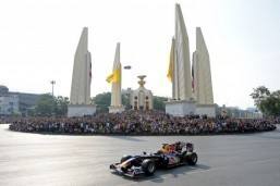 Formula One stalls in Bangkok as law bans car racing
