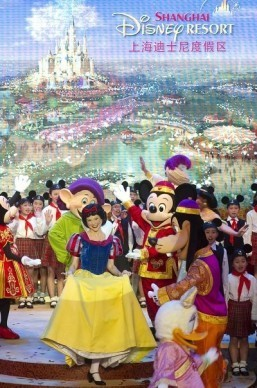 Mystery cloaks Disney's future Magic Kingdom in China