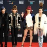K-pop girl group 2NE1 embark on Asian tour