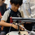 Robot turning Japanese children into master calligraphers