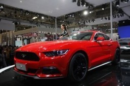 Ford shows off 'smart' Mustang at Taiwan tech show