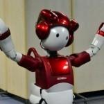 Japan's Hitachi unveils joking robot