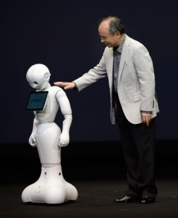 Japan's SoftBank unveils 'family member' robot
