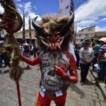 Devils take center stage at Ecuador Good Friday festival