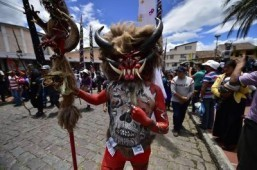 Devils take center stage at Ecuador Good Friday festival