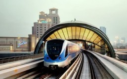 Dubai Metro ©AFP PHOTO/HO/RTA