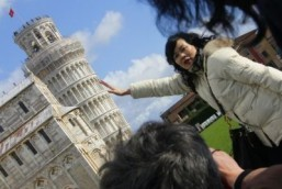 Leaning Tower of Pisa is straightening out – just a little
