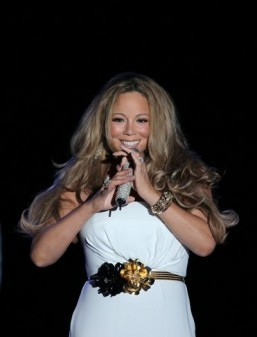 Mariah Carey ©AFP PHOTO / VALERY HACHE