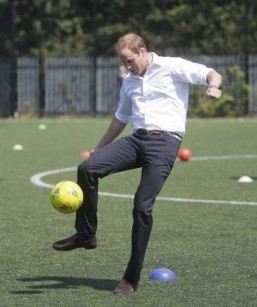 Football: Buckingham Palace to stage first football match