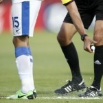 Football: Vanishing spray to feature at World Cup