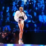Miley Cyrus lights up a joint and Amsterdam at MTV awards