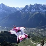 Wingsuit daredevils risking their lives on film