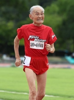 Japan's 'Golden Bolt': 103-year-old challenges world's fastest man