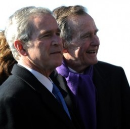George W. Bush writes bio of his US president dad