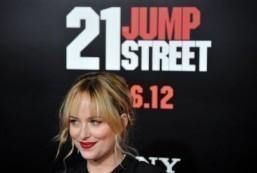 "Dakota Johnson will play Anastasia Steele in ""Fifty Shades of Grey,"" due in theaters in February 2015. ©AFP PHOTO/JOE KLAMAR"