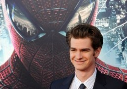 "Andrew Garfield stars in ""The Amazing Spider-Man 2"" © AFP PHOTO / VALERIE MACON"