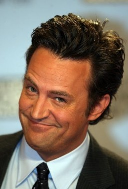 "Matthew Perry could soon return to TV in a reboot of ""The Odd Couple"" on CBS. ©AFP/GABRIEL BOUYS"