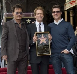 Star power: Depp, Cruise hail producer Bruckheimer