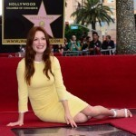 Julianne Moore gets star on Hollywood 'Walk of Fame'
