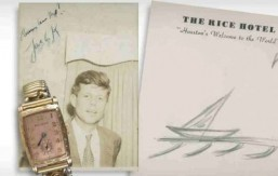 JFK's last sailboat sketch goes up for auction
