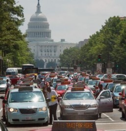 Washington takes on Uber with its own taxi app