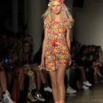 NYFW: Jeremy Scott's runway kaleidoscope