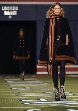 Hilfiger's American football love story on NY runway