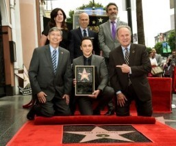 Jim Parsons of 'Big Bang Theory' gets Hollywood star